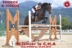 055 ST ISMIER LE CHA Club/Poney du 22.09.2019