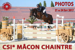 082 CSI* MACON CHAINTRE du 21 au 24.09.2017