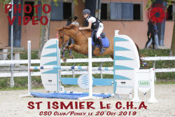 059 ST ISMIER LE CHA Club/Poney le 20.10.2019