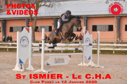 001 ST ISMIER LE CHA Club/Poney le 12.01.2020
