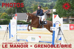 084 MANOIR GRENOBLE PONEY 01.10.2017